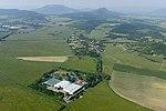 Légi felvétel, a Kékkúti Ásványvíz Zrt.jpg