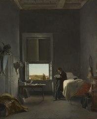 The Artist in His Room at the Villa Medici, Rome