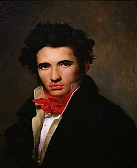 Léon Cogniet self-portrait 1818.jpg