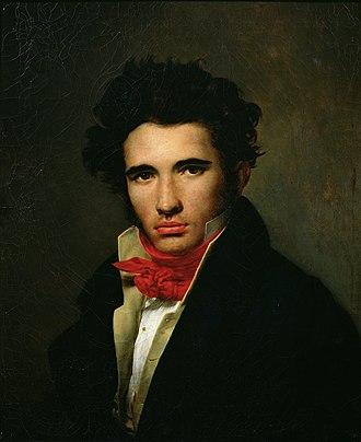 Léon Cogniet - Léon Cogniet. Self-portrait ca. 1818, Musée des Beaux-Arts d'Orléans
