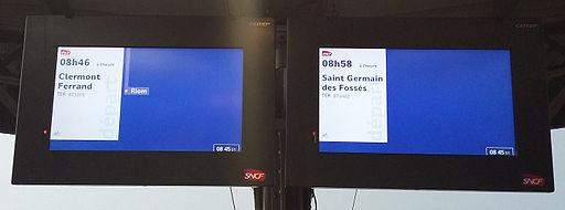 LCD Voies C et B Vichy 2015-10-06