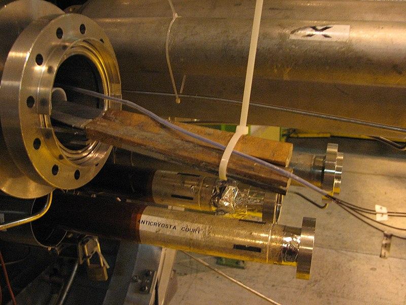 File:LHC NbTi superconducting wire.jpg