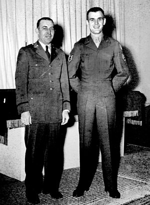 Russell L. Blaisdell - Image: LTC Blaisdell and SSGT Mike Strang