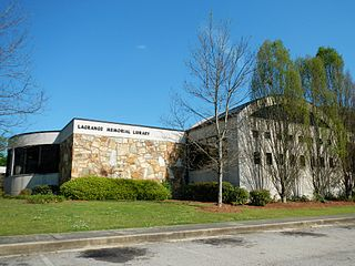 Troup-Harris Regional Library Public library system in Troup and Harris Counties, Georgia, United States