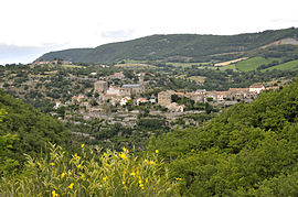 A general view of La Bastide-Pradines