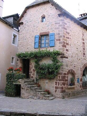 La Canourgue - Image: La Canourgue house IMG 6236