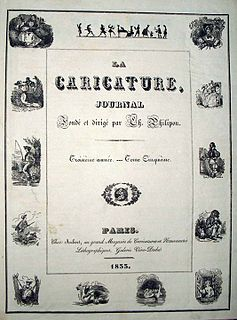 <i>La Caricature</i> (1830–1843) magazine
