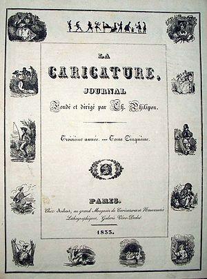 La Caricature (1830–1843) - Image: La Caricature cover 1833