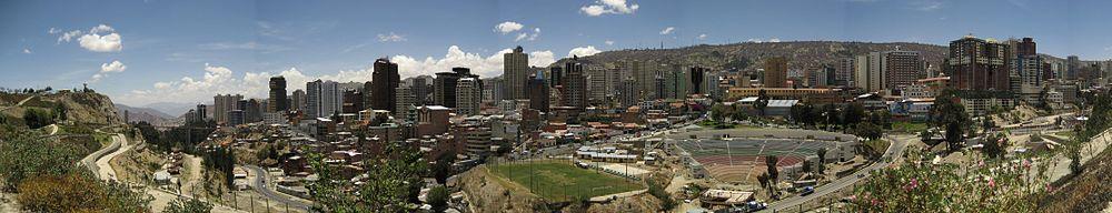 Panorama vido al La-Pazo