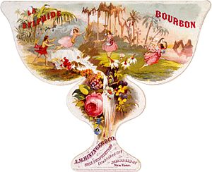 Sylph - Image: La Sylphide by A.M. Bininger, bourbon whiskey label, ca. 1860
