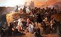 La sed sufrida por los primeros cruzados en Jerusalén, por Francesco Hayez.jpg