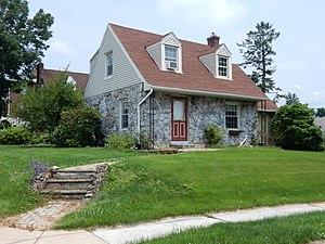 Kenhorst, Pennsylvania - Image: Lacrosse Ave, Kenhorst Berks Co PA 03