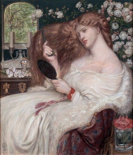 File:Lady Lilith, by Dante Gabriel Rossetti.jpg