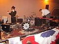 Lafayette Steampunk Fest 2012 COG Robotic Drumkit.JPG