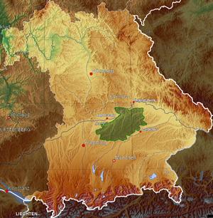 Hallertau - Hallertau area in Bavaria