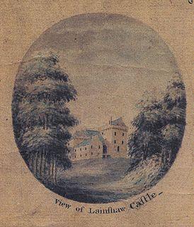 Lainshaw Castle