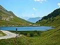 Lake at the FR-IT border - panoramio.jpg