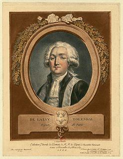Gérard de Lally-Tollendal French politician