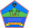 Official seal of North Minahasa Regency