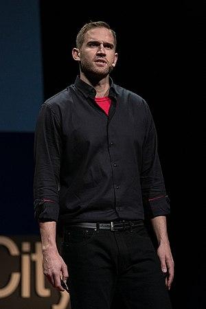 Lance Allred - Lance Allred speaking at TEDx Salt Lake City 2016.