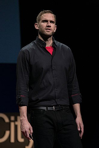 Lance Allred - Lance Allred speaking at TEDx Salt Lake City 2016.