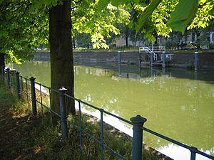 Landwehr Canal - The Landwehr Canal near Lützowplatz