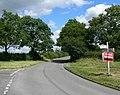 Lane junction near Stanton under Bardon - geograph.org.uk - 513954.jpg