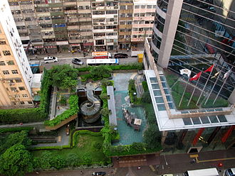 Langham Place (Hong Kong) - Image: Langham Place Public Open Space 201307