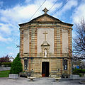 Laroque d'Olmes façade principale chapelle Notre Dame.jpg