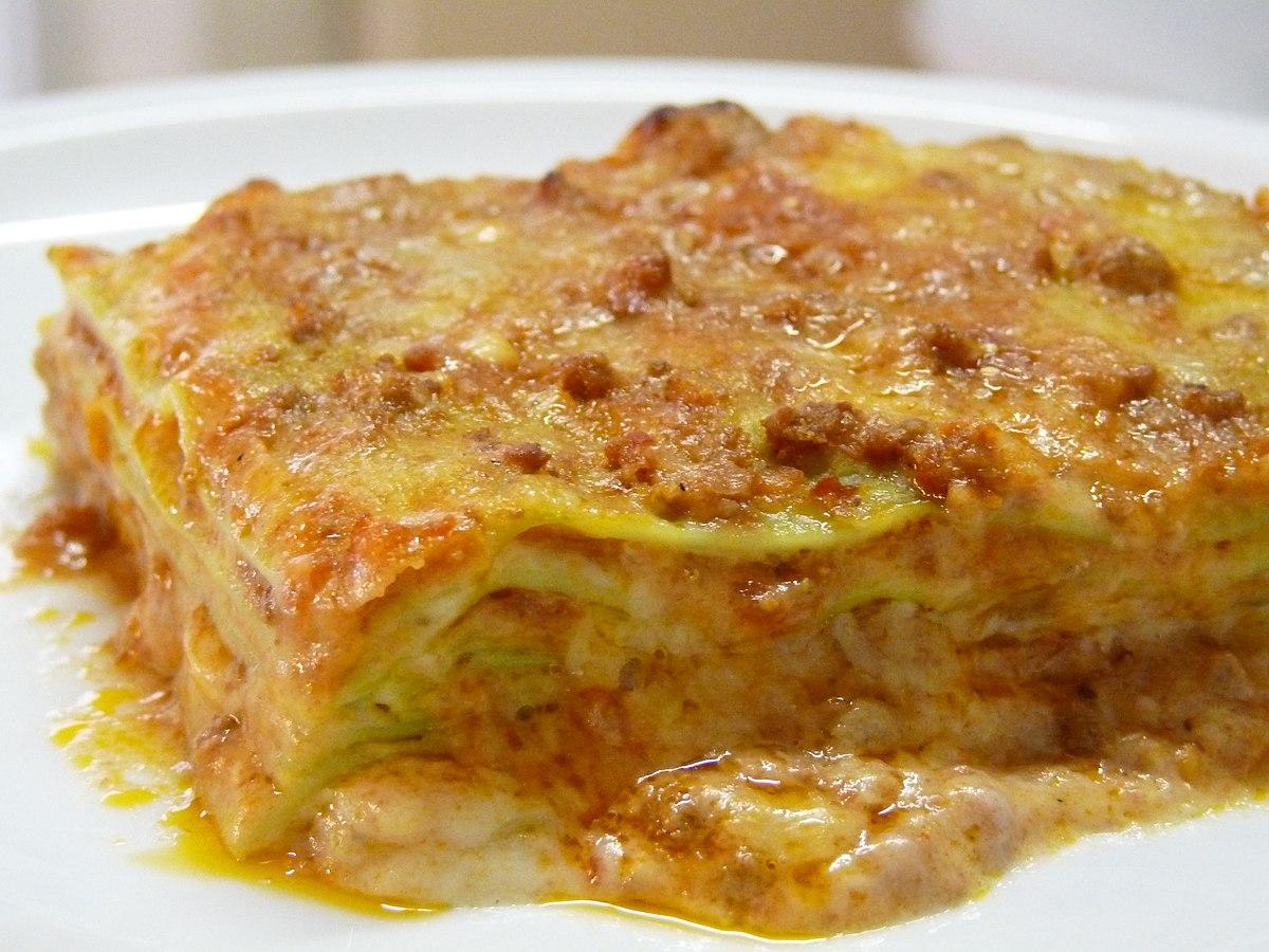 Ricetta Lasagne Italiana.Lasagne Al Forno Wikipedia