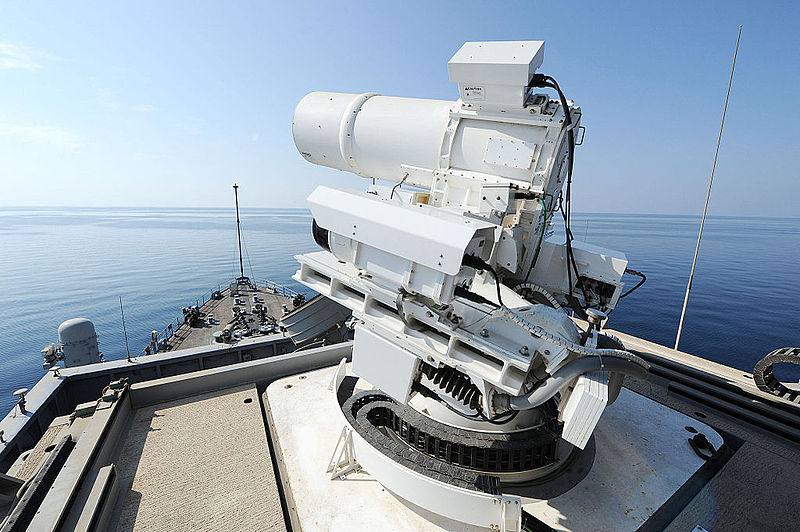 File:Laser Weapon System aboard USS Ponce (ASB(I)-15) in November 2014 (01).JPG