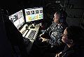 Laser Weapon System control station aboard USS Ponce (AFSB(I)-15) in November 2014 (01).JPG