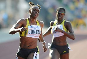 2010 IAAF World Indoor Championships – Women's 60 metres - LaVerne Jones-Ferrette ran the fastest time for both qualifying rounds