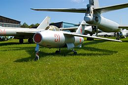 Lavochkin La-15 @ Central Air Force Museum.jpg