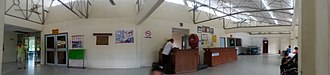Lawas - Interior of Lawas Airport.