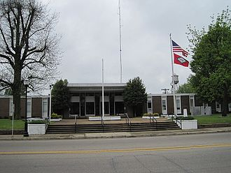Lawrence County, Arkansas - Image: Lawrence County Courthouse Walnut Ridge AR 2013 04 27 002