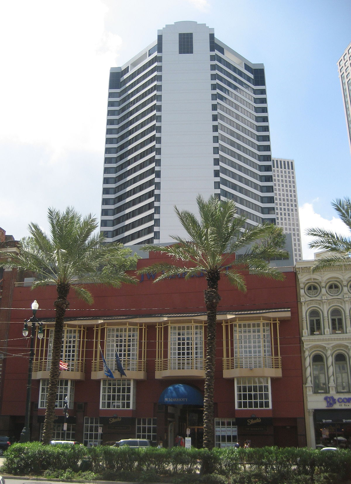 New Orleans Hotels >> JW Marriott Hotel New Orleans - Wikipedia