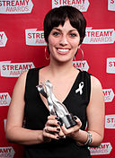 Leah D'Emilio at the Streamy Awards 2010.jpg