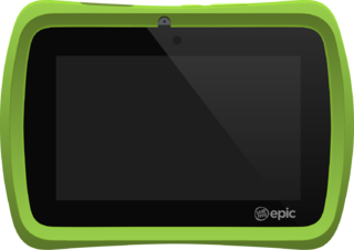 LeapFrog Epic Childrens Android tablet by LeapFrog Enterprises