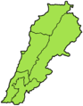 Lebanon governorates green.png