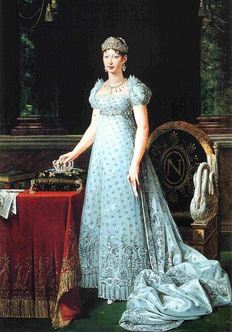 Marie Louise, Duchess of Parma - Portrait in 1812 by Robert Lefèvre