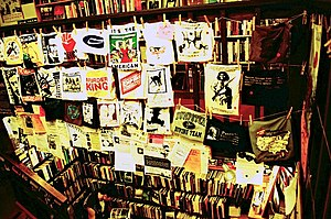 Glossary of anarchism - Interior of the Left Bank Books infoshop in Seattle, Washington in 2006. An infoshop is a nexus for information exchange among anarchists.