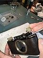 Leica II D aka Couplex rangefinder miror replacement (33244463260).jpg