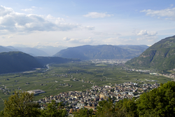 Panorama of Laives.