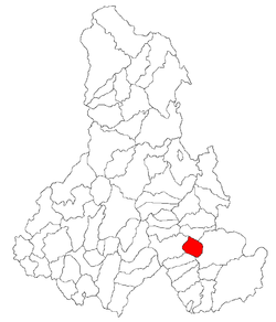 Location of Leliceni