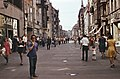 Lengyelország, Toruń 1977, Ulica Szeroka a Rynek Staromiejski felé nézve. Fortepan 94643.jpg
