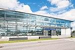 Lentoaseman rautatieaseman Tietotien puoleinen sisäänkäynti.jpg
