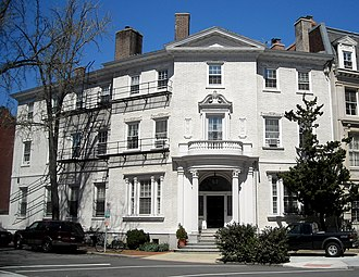 The Leonard Neale House in Dupont Circle in 2009 Leonard Neale House.JPG