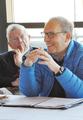 Leonard Schlesinger with John McArthur.png