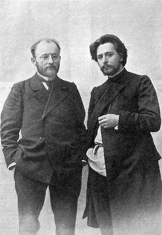 Викентий Вересаев и Леонид Андреев, 1912год